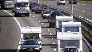 Caravan op weg verzekeren